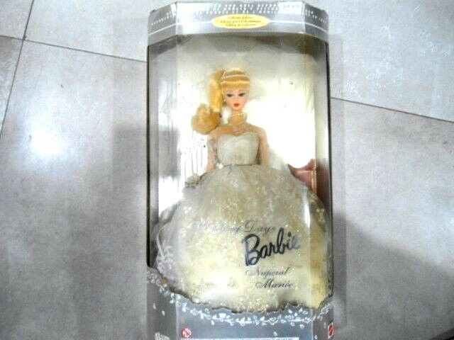 BARBIE WEDDING DAY-NUPCIAL MARIéE 1996 COLLECTOR REPR