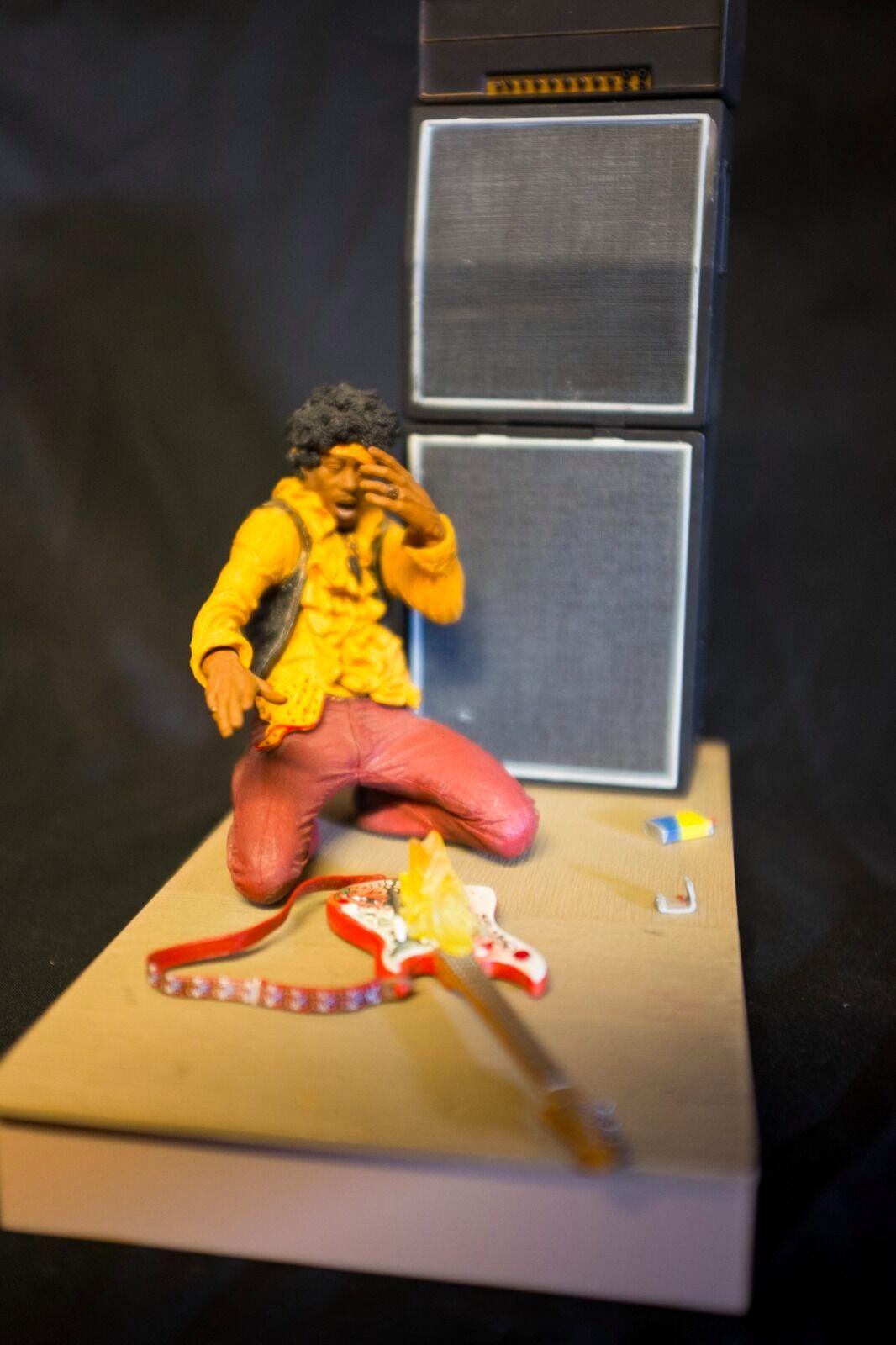 Mcfarlane 7  jimi hendrix in monterey pop festival actionfigur locker