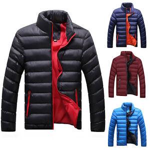 homme-doudoune-veste-d-039-Hiver-Manteau-en-plume-duvet-wintermantel-gr-XS-XL