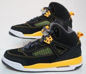 new styles b0655 101f2 Image is loading Jordan-Spizike-GS-Black-University-Gold-Dark-Grey-