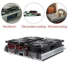 240w Semiconductor Refrigeration Thermoelectric Peltier Cold Plate Cooler With Fan