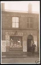 Birkenhead posted Newsagents & Shop of Mr Garrett.