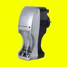 Lloytron B1501 Compact 2/4 Battery Charger for AA/AAA NiMH  Ni-CD LED Indicator
