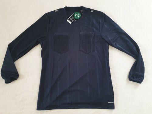 Adidas UCL Referee Trikot langarm Dunkelblau Größe S M L XL -NEU