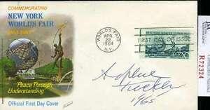 Sophie-Tucker-D-66-Jsa-Coa-Hand-Signed-Fdc-Authenticated-Autograph