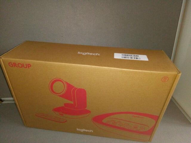 Logitech GROUP Videokonferenzsystem HD 1080p, 10-fach Zoom, Rauschunterdrückung,