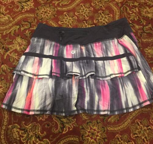 lululemon tennis skirt size 4