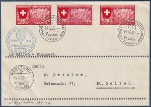 Svizzera-14-Maggio-1939-034-INTERNATIONAL-BALLONWETTFLIEGEN-ZURICH-034
