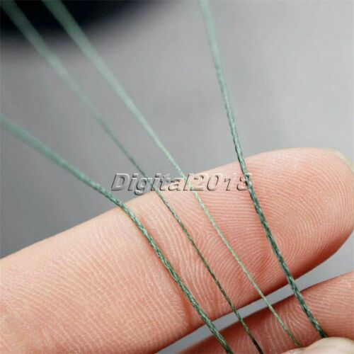 Spectra Moss Green 100-1000M 10-80LB Dyneema Braided Outdoor Fishing Line Tool
