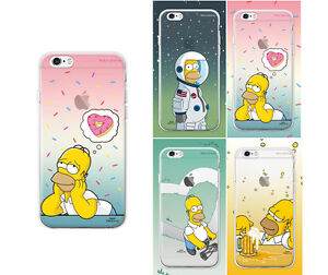 brand new 6c266 f0dc7 Details about [THE SIMPSONS] iPhone 6/6s/PLUS Phone Case Soft TPU Jelly  Cover Protector