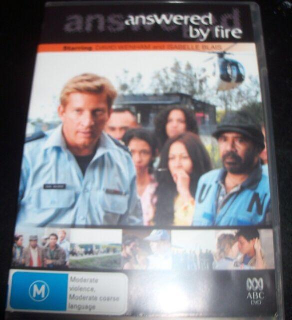 ANSWERED BY FIRE - David Wenham / Isabelle Blais (Australia Region 4) DVD – Like