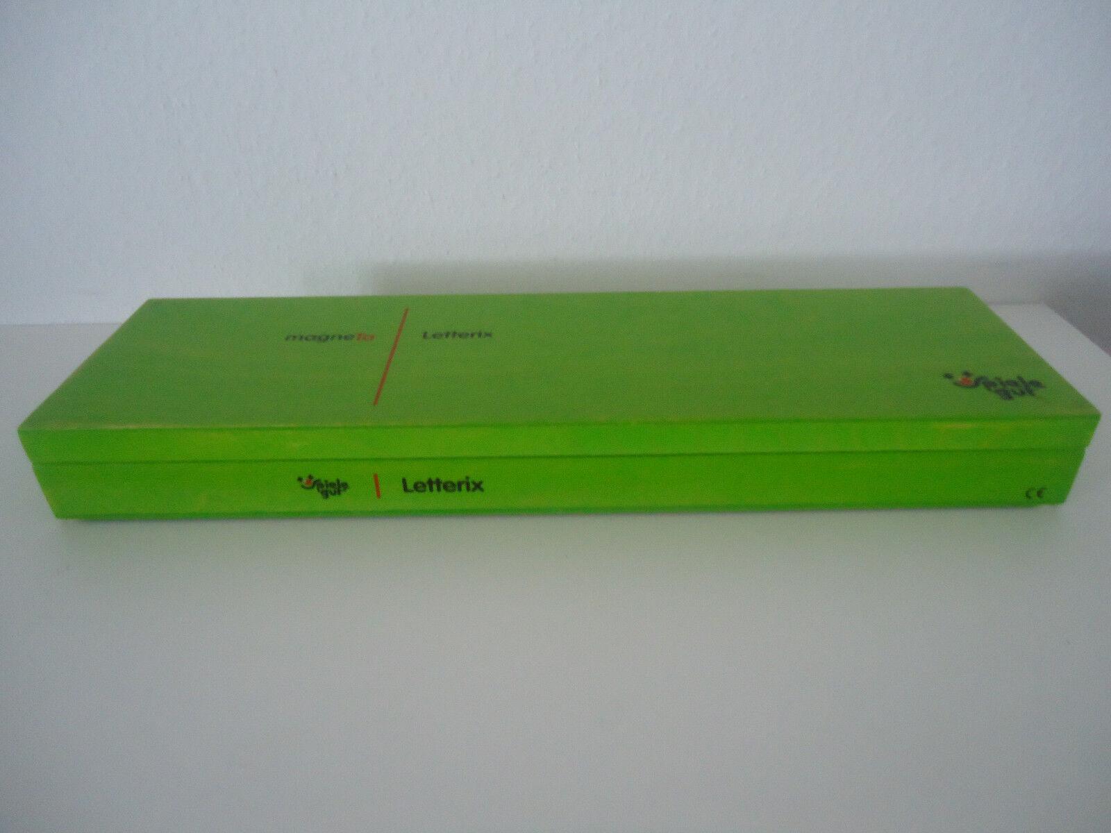 MAGNETA LETTERFIX SPIELEGUT Kindergarten Lernspielzeug Dialog + Form Weimar 2006