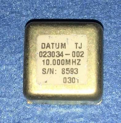 Used  CTS 1960017 10MHZ OCXO Crystal Oscillator 5V sinewave EFC