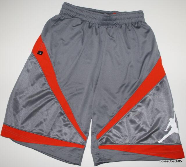 ec5c27bc6d3e Nike Jordan Triangle Triumph Men s Basketball Shorts Grey orange ...