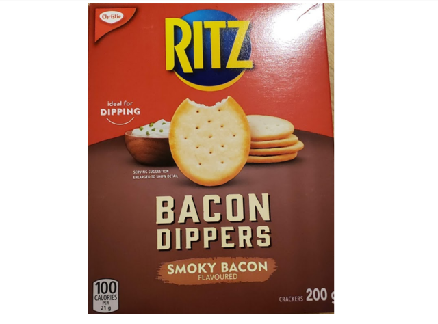 CHRISTIE Bacon Dippers Crackers New 200 grams