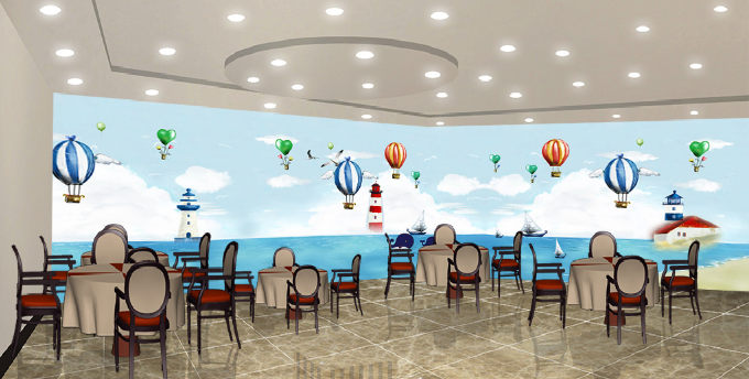 3D Balloon 475 Wallpaper Murals Wall Print Wallpaper Mural AJ WALL UK Summer