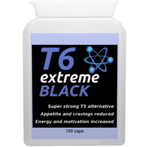 Details About 100 T6 Extreme Black Strong Diet Pills Slimming Weight Loss Hardcore Fat Burner