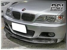 M3 Only BMW 01-06 E46 Coupe Convertible CSL Type Carbon Fiber Front Bumper Lip