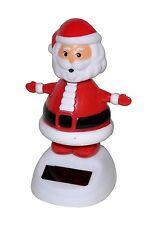 2 x Solar Figur Wackelfigur Solarfigur Weihnachtsmann Santa Claus Weihnachten