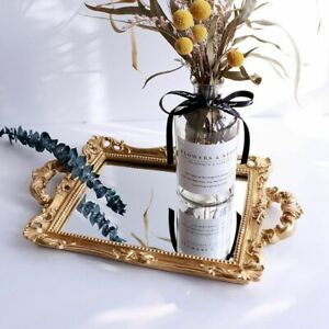 European-Resin-Mirror-Jewelry-Tray-Serving-Dish-Storage-Tray-Home-Decoration