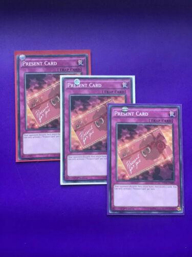 INOV-EN080 MIXED Edition Yugioh X1 Copy Present Card Short Print
