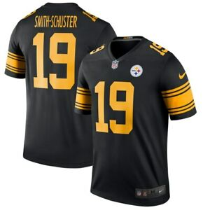 big sale 01271 5a8cd Details about Nike Pittsburgh Steelers JuJu Smith-Schuster 19 Color Rush  Legend Edition Jersey