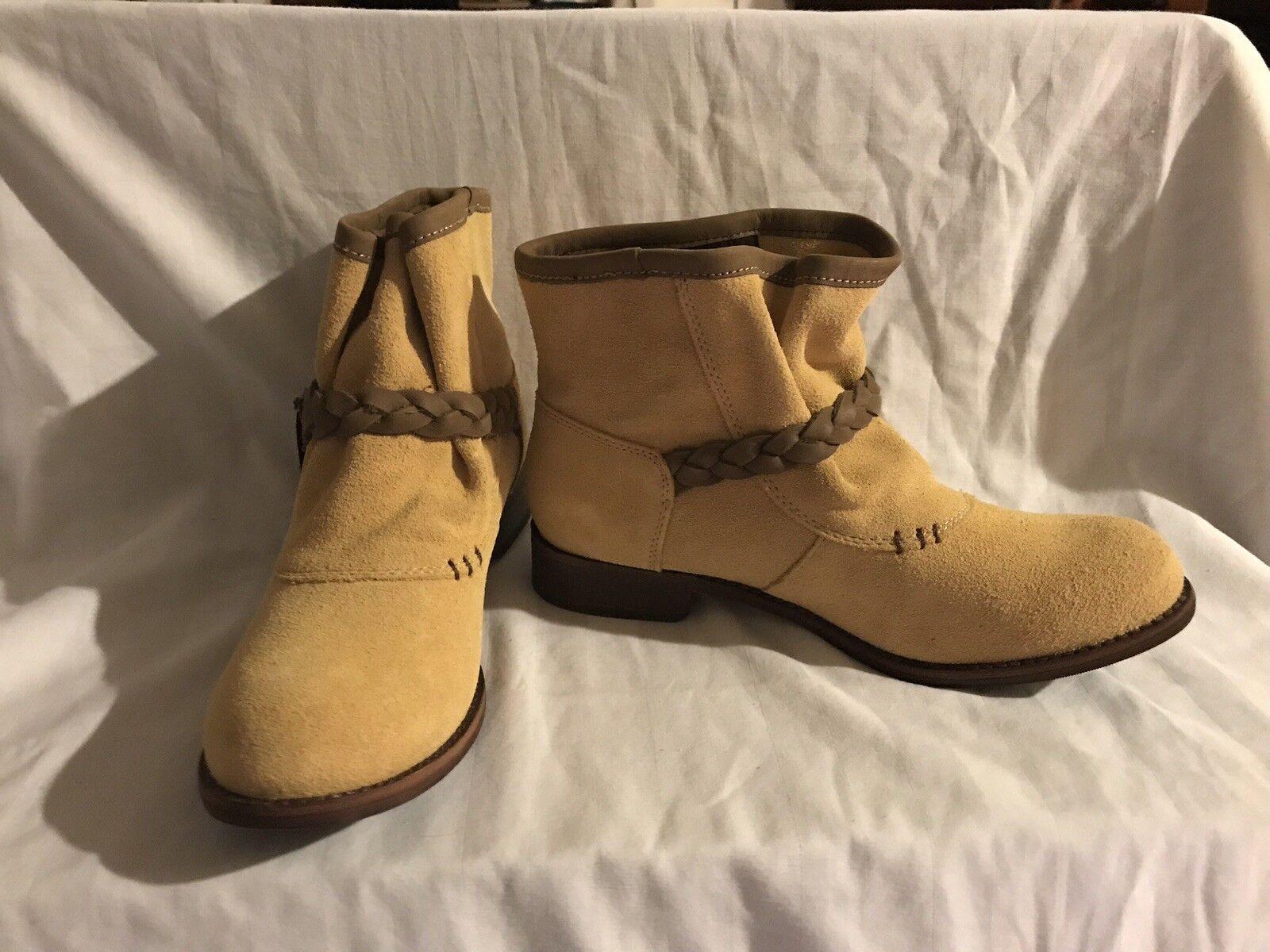 Caterpillar NEW Rita Strap Women's Leather Boots Size 7 Retail  165.00