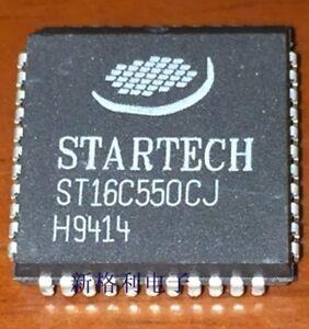 Details about 1PCS ST16C550CJ UART WITH 16-BYTE FIFO's PLCC44