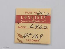 Longines Genuine Material Part #242 Can. Pin. Ht. 1.69 for Longines Cal. 960.2