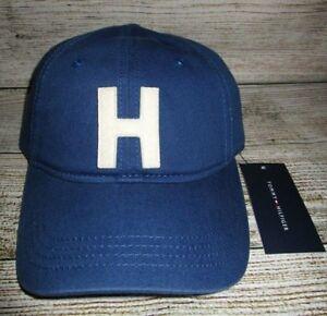 Image is loading MENS-TOMMY-HILFIGER-NAVY-BLUE-HAT-ADJUSTABLE-CAP- 211ee9891d5d