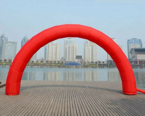 Discount 26ft*13ft D=8M//26ft inflatable Red arch Advertising #
