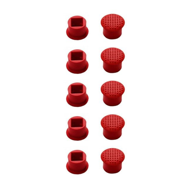 US Ship 10 PCS New TrackPoint Red Cap Soft Dome for Lenovo IBM Thinkpad Laptop
