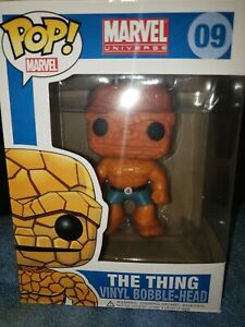 Funko Pop La Cosa 09 The Thing Marvel