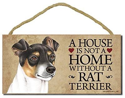 RAT TERRIER A House Home Magnet Personalized With Your Dog/'s Name