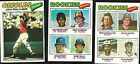 1977 Topps Rookie Outfielders #479 Baseball Card
