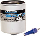 OEM Quicksilver Mercury Outboard Fuel Filter V-6 EFI 1996 & Newer 35-18458Q 4