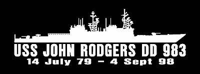 USS ELLIOT DD 967 Decal U S Navy Military USN S01