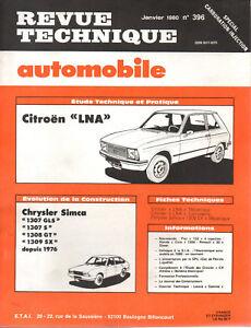 Rta Revue Technique Automobile N° 396 Citroen Ln Lna Pure Blancheur
