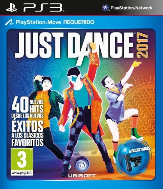 JUST DANCE 2017 17 TEXTOS EN CASTELLANO NUEVO PRECINTADO PS3