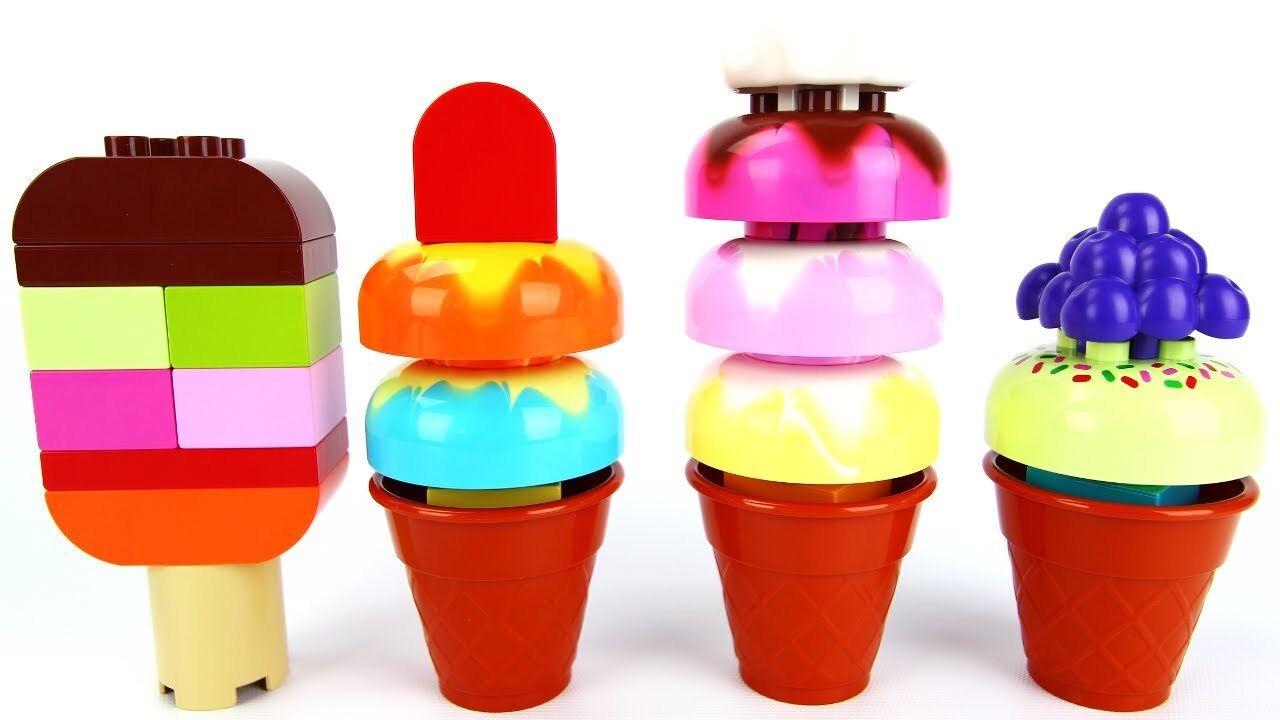 Lego Duplo Creative Play Ice Cream Set 10574 100% Complete
