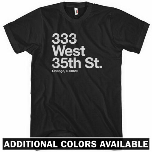 Chicago Baseball Stadium South Side T-shirt White Sox The Cell IL Men S-4XL