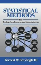 Statistical Methods for Testing, Development, and Manufacturing-ExLibrary