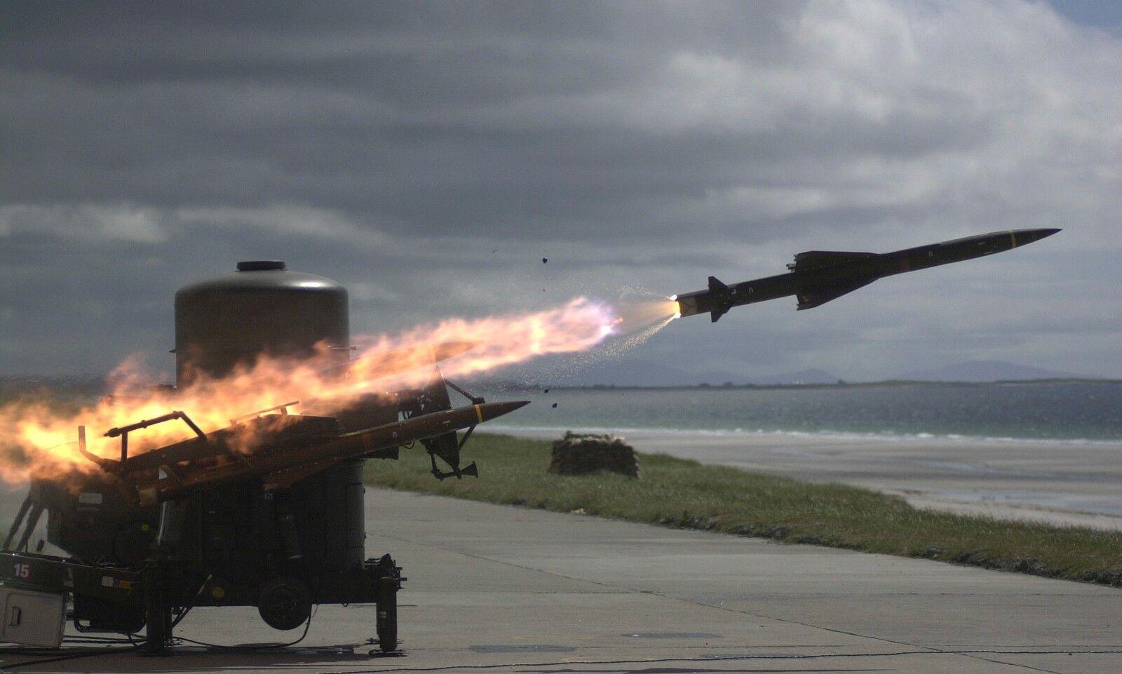 ARMY Royal Artillery Rapier missile  Photo Print