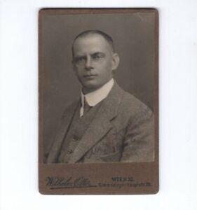 CDV-Foto-Herrenportrait-Wien-um-1920