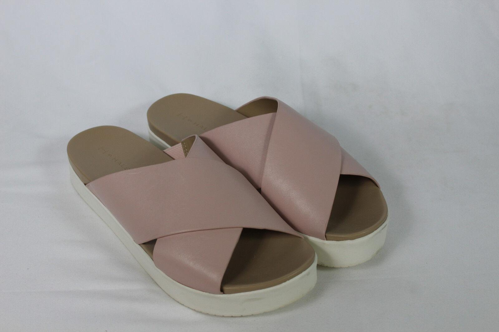 H by Platform Halston Leather Criss- Cross Platform by Sandals - Rosie pick size color 92e96d