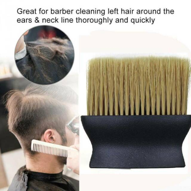 Stylist Salon Soft Brush Barber Neck Face Duster Hairdressing Hair Cutting Tools