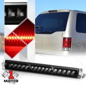 Black-Housing-Clear-Lens-LED-Third-3rd-Brake-Light-for-97-05-F150-Excursion
