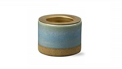 TAG Glazed Tea Light Holder 209011 Light Blue