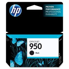 NEW GENUINE HP 950 BLACK INK CARTRIDGE EXP 02/2017