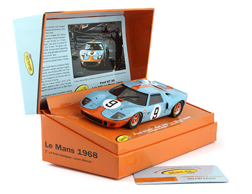 Slot it SICW 16 FORD GT40 GULF  9 Limited Edition LE MANS 1968 1 32 Slot Car